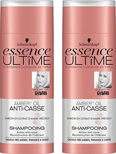 Essence Ultîme Shampooing Anti-casse Amber + Huile 250 ml - Lot de 2