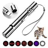 Toozey LED Pointer Katzen Hund Spielzeug Haustier LED Light Licht Pointer mit USB Wiederaufladbar