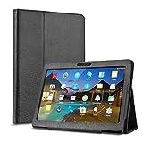 BEISTA Housse Case Tablet Cover Etui Coque de Protection pour LNMBBS Tablette Tactile 10 Pouce/YOTOPT 10.1 Pouces/SANNUO Tablette Tactile 10.1 Pouces 10 Pounce (10.1')-Noir
