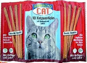 Perfecto Cat 10 Katzensticks Geflügel + Leber
