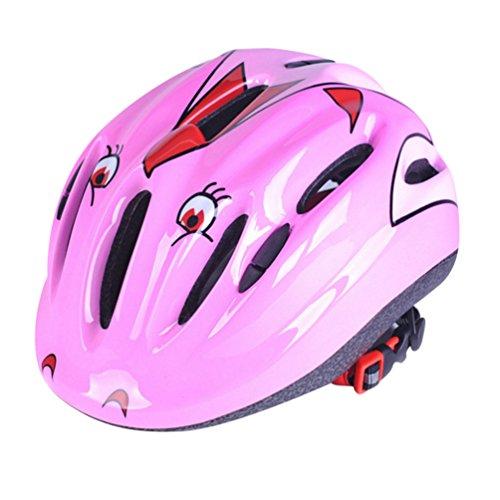 Dooxi Kind Jungen Mädchen Draussen Sport Sicherheit Mountainbike Helme Professionellem Eisschnelllauf Rollschuhlaufen Fahrradhelm 6-12 Jahre Alt
