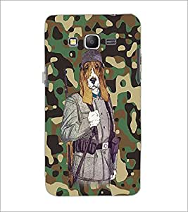 PrintDhaba Funny Dog D-4683 Back Case Cover for SAMSUNG GALAXY GRAND PRIME (Multi-Coloured)