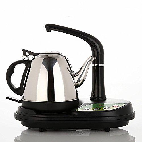 XUERUI Smart Electric Teapot Stainless Steel 1.0L 1350w Or Noir Petit électroménager (Couleur : Noir)