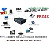 UNIC WIFI 1920X1290 PIixel Full HD UC46 LED Projector With HDMI VGA AVI With Inbuilt Speaker