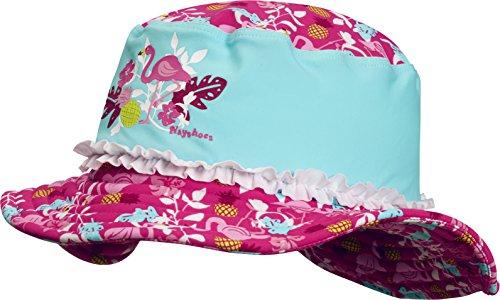 Playshoes Mädchen Mütze UV-Schutz Sonnenhut, Bademütze Flamingo Türkis 15, 53