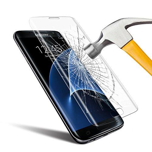 Samsung Galaxy S7 Edge Pellicola Vetro Temperato, Ubegood Samsung Galaxy S7 Edge Screen Protector [3D Toccare Compatibile] Pellicola Protettiva per Samsung Galaxy S7 Edge(5,5