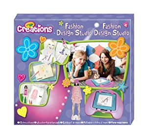 Creations fashion design studio toys games Crayola fashion design studio reviews