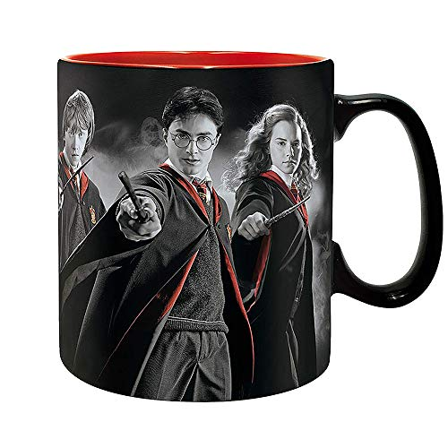 ABYstyle - Potter Taza de Harry Ron Hermione Box Unisex-Adult, abymug300