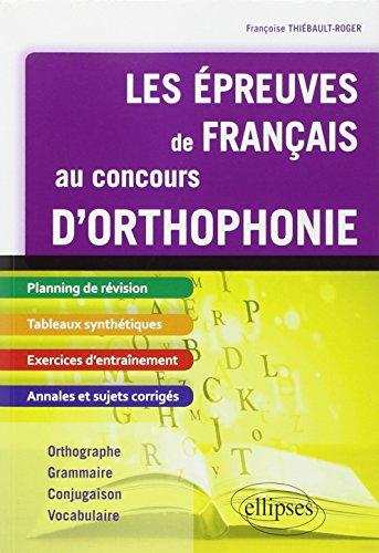 Les Épreuves de Français au Concours d...