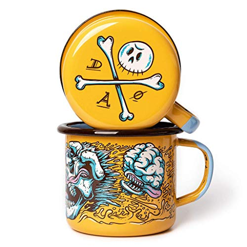 DEAD OR ALIVE Emaille Tasse 350ml