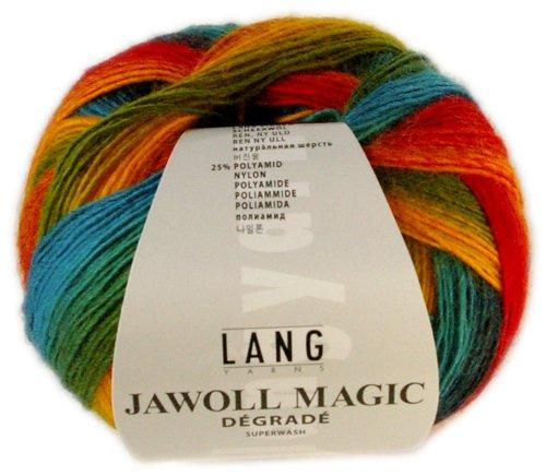 100 g Sockenwolle Jawoll Magic Degradé 4-fädig, Fb. 50 -
