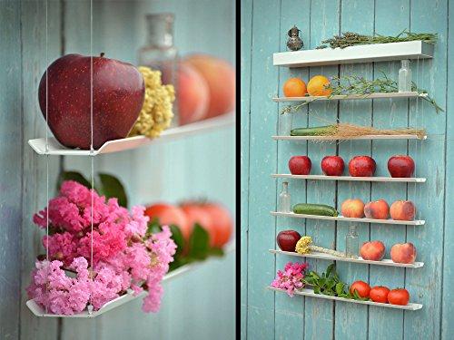 Fruitwall Obstregal Zum Aufhangen I Obst Hangekorb I Obstschale