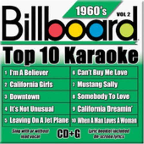Billboard Top-10 Karaoke - 1960's Vol. 2 (10+10-song CD+G) by Billboard Karaoke