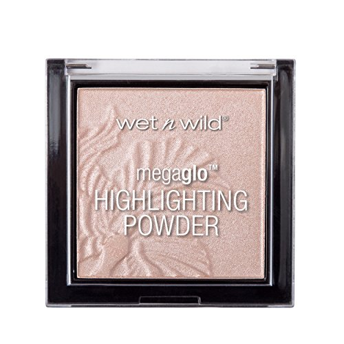Schimmer-highlighting Powder (WET N WILD MegaGlo Highlighting Powder - Blossom Glow)