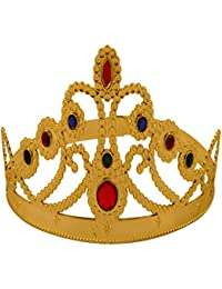 CROWN QUEEN GOLD MULTI SIZE LENGTH 59CM