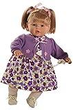 Berbesa - Baby dulzona llorona, muñeca con Vestido Lila (80281)