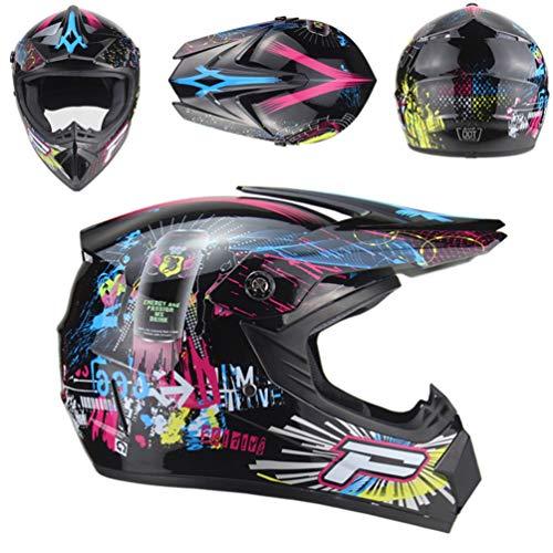 Casco moto leggero unisex Off Road anti shock moto Caschi adolescenti adulti mountain bike bicicletta motocross racing Caps Hat