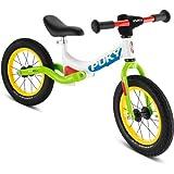 Kinderlaufrad Puky LR Ride Kinder Laufrad mit Federung weiß/grün, Link führt zur Produktseite bei amazon.de
