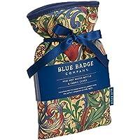 Blue Badge Company 0,5Liter Wärmflasche, klein mit gepolsterter Baumwolle Golden Lily Bezug William Morris preisvergleich bei billige-tabletten.eu