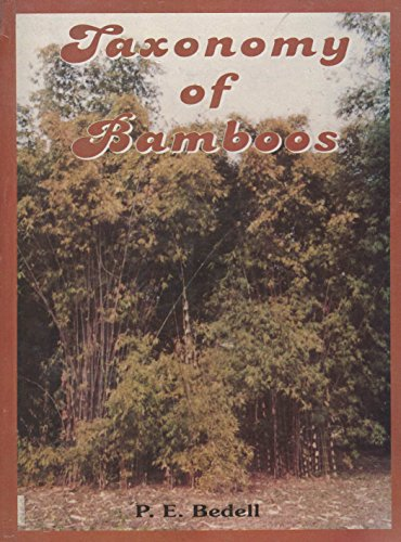 Taxonomy of Bamboos por P.K. Bedwell