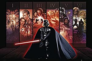 Star Wars Póster g856520 hexalogie Darth Vader