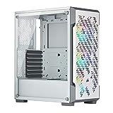 Corsair iCUE 220T RGB Airflow, Smart Case Gaming Mid-Tower ATX con Paratia in Vetro Temprato, Bianco
