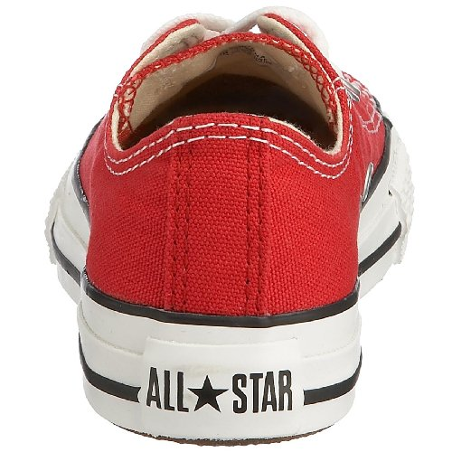 Converse Chuck Taylor All Star Core Ox, Chuck Taylor Ox Canvas Core mixte enfant Rouge (Red)