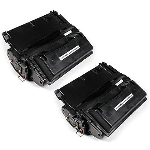 Mythe Land de remplacement Hq-q5942a cartouche de toner compatible pour HP Laserjet 42404240N 4250dtn 4250dtnsl 4250N 43504350dtn -2paquets