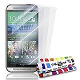 MUZZANO FPR-181-323-NNNN Displayschutzfolie, HTC M8, durchsichtig