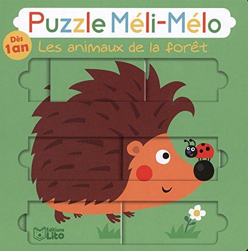 Puzzle Meli Melo: Les animaux de la foret - Dès 1 an