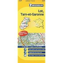 Michelin Map France: Lot, Tarn-et-garonne 337