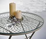 GLASPLATTE Sicherheitsglas Durchmesser 71 cm, Tischplatte Glas ohne Tisch!