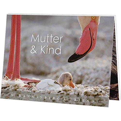 Postkartenbuch Mutter und Kind, Postkarte Ansichtskarte, Tiere, Tier