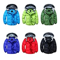 Boys Winter Coat/Gilet 2 Way Casual Hood Duck Down Trendy Long Age Size