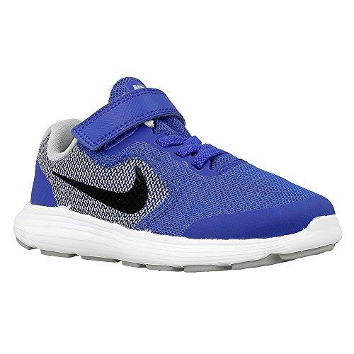 Nike Revolution 3 (Psv), Chaussures de Football Mixte Bébé Azul (Game Royal / Black-Wolf Grey-White)
