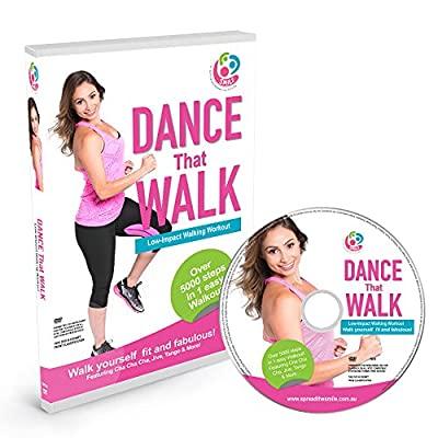 DANCE That WALK – 5000 Steps in One Easy Low Impact Walking Workout DVD (PAL) from Third Tree Creatives