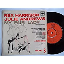 "REX HARRISON / JULIE ANDREWS My Fair Lady Volume 3 7"" vinyl"