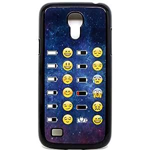 Batterie pour Samsung Galaxy S4Mini Téléphone Case Coussin Face funny Espace Funky Smiley