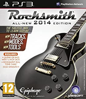 Rocksmith 2014 Edition (PS3) (B00CMJ1IS0) | Amazon price tracker / tracking, Amazon price history charts, Amazon price watches, Amazon price drop alerts