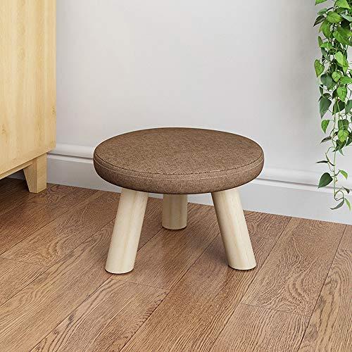 Lifex panca moderna a fungo basso moda bambino sgabello in legno massello per uso domestico cambia panca scarpe da cucina cucina creativa seduta sedia sgabello sgabello soggiorno sgabello da pranzo co