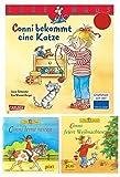 Conni Bundle 2 – Conni Bücher Set - Conni bekommt eine Katze Lesemaus - Conni feiert Weihnachten - Conni lernt reiten - Pixi Bücher