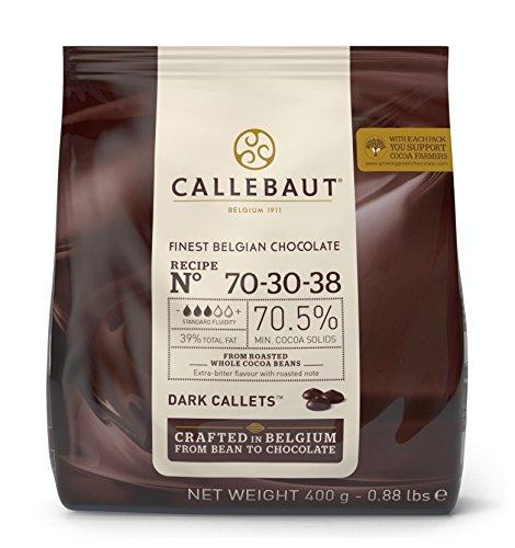 Preisvergleich Produktbild Callebaut Callets 70-30-38 dunkle Schokoladenkuvertüre 400g