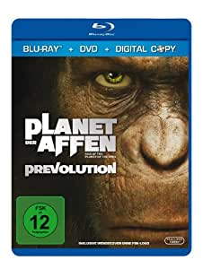 Planet der Affen: Prevolution (+ DVD + Digital Copy) [Blu-ray]