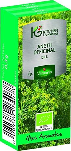 KG BY VILMORIN 8200012 Aneth Officinal Bio, Vert, 7 x 3 x 2 cm