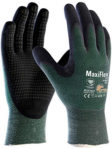 ATG Handschuhe 34-8443 Schnittschutzhandschuhe MaxiFlex Cut grün/schwarz 8