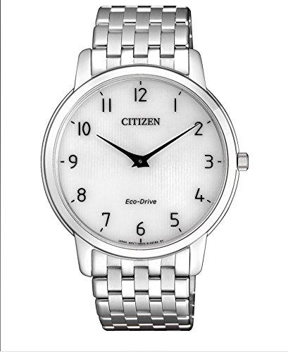 Citizen Herren Analog Quarz Uhr mit Edelstahl Armband AR1130-81A