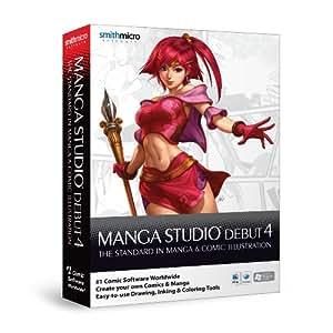 Manga Studio 4 Debut deutsch, Mac / Win [import allemand]