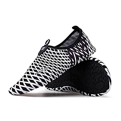 Boys Girls Mens Womens Quick-Dry Surf Aqua Shoes Beach Swim Water Shoes Wetsuit Socks Yoga Exercise Shoes from Kaiki