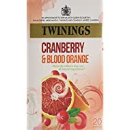 Twinings Cranberry and Blood Orange X20 Tea Bags, 40g