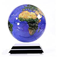 Levitación magnética Globo flotante con base de levitación magnética iluminada, (globo con sistema de imán) , A